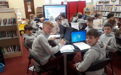 Coding workshop in Newcastle West Library