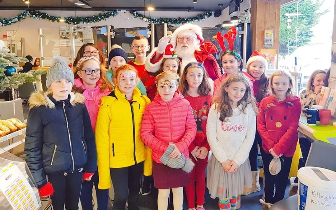 Fundraising over the Christmas break