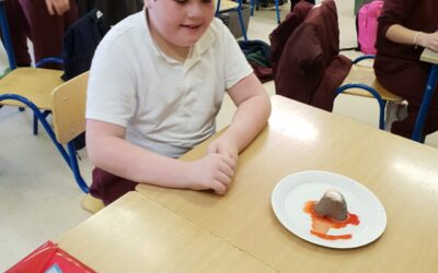 Volcanoes in 4th Class