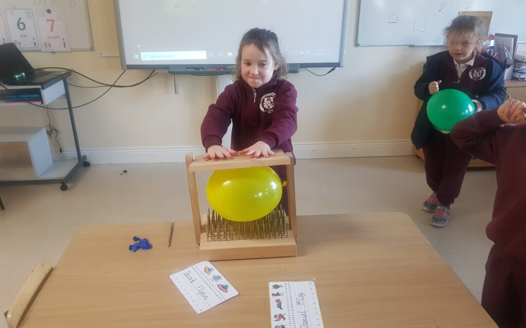 STEM – Fun with Balloons in Senior Infants